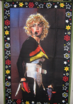 BLOND AMBITION TOUR - 4ft WALL RUG / THOW